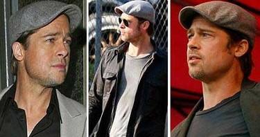 Brad Pitt subasta sus gorras