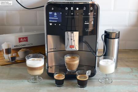 Probamos la Melitta Caffeo Barista TS Smart, la cafetera inteligente para hacer el café perfecto desde el móvil