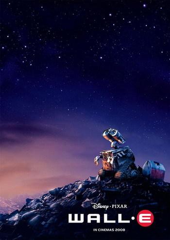 Primer póster de 'Wall-E', lo nuevo de Pixar