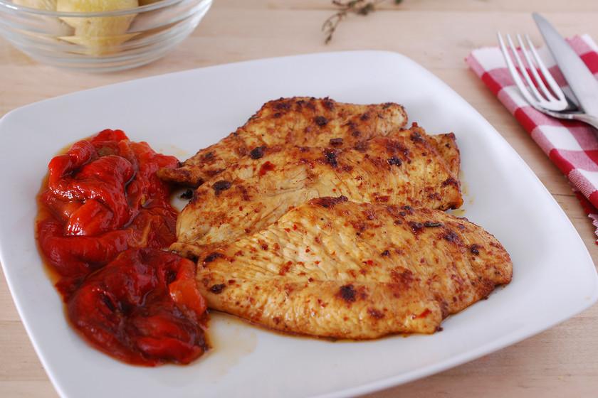 Pechuga de pollo foto Pechugas De Pollo Picantes A La Plancha Receta De Cocina Facil Sencilla Y Deliciosa