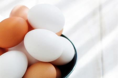 ¿Qué fue de los huevos blancos?