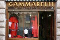 Comprar calcetines en la tienda donde se viste el Papa de Roma