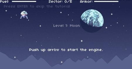 'ApolloQuest', el juego gratuito en Flash desarrollado por uno de nuestros lectores. Vamos al espacio