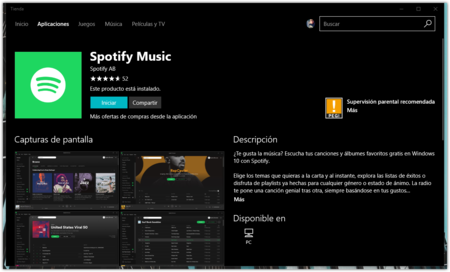 Spotify Tienda De Windows