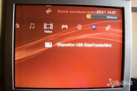 PS3 media USB