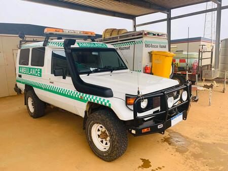Toyota Land Cruiser Ambulancia Australia