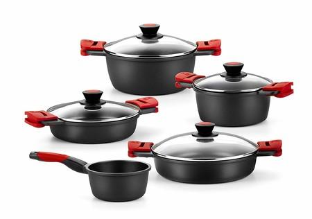 Oferta del día en la batería de cocina de cinco piezas BRA Premiere: hasta medianoche su precio es de 109,99 euros en Amazon