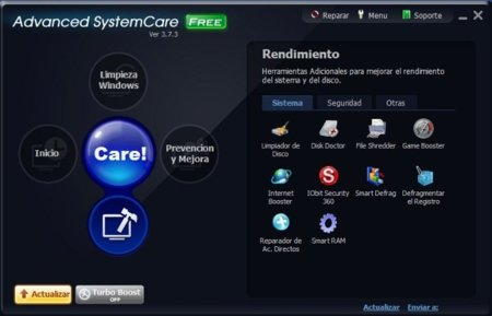 Utilidades Advanced System Care
