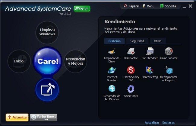 Utilidades Advanced System Care