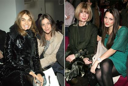 El look de la semana 10/16 de diciembre: Carine Roitfeld y Anna Wintour