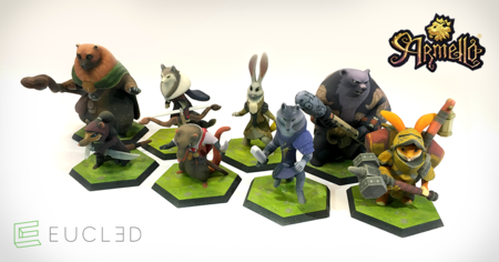 Miniaturas de Armello aparecen a la venta en EUCL3D