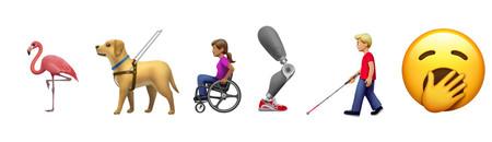 Sillas de ruedas, prótesis e incluso un signo para sordos: así son los emojis que veremos pronto en iOS y Android