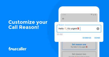 Truecaller lanza la función Call Reason para conocer el motivo de la llamada antes de contestar al móvil