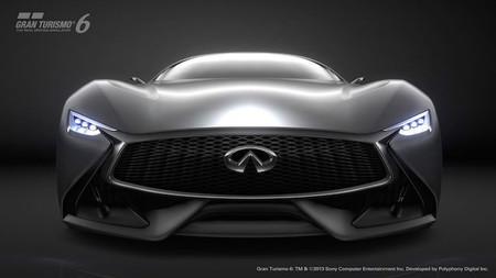 Infinity Concept Vision GT, el nuevo coche futurista que llega a Gran Turismo 6