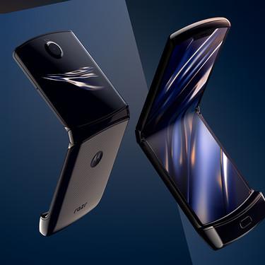 Motorla razr: vuelve el clásico con el mismo diseño y pantalla plegable