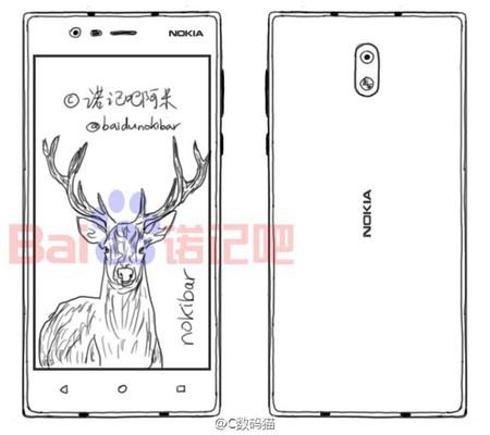 Nokia 3, estas serían las especificaciones del menor de los nuevos móviles de la compañía