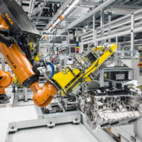 Hoy es un buen día para conocer la nueva fábrica de motores V8 de Porsche