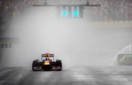 GP de Brasil de Fórmula 1: Llueve en Interlagos