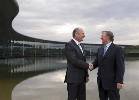 La fábrica de McLaren recibe muchas visitas