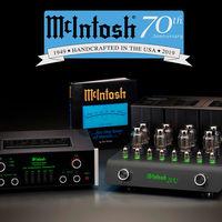 McIntosh celebra su 70 aniversario con el lanzamiento de un amplificador y preamplificador de válvulas