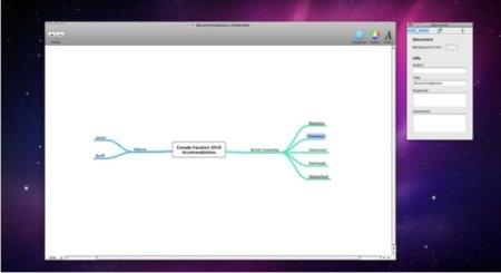 mindnode mac app store mapas nodos esquemas gráficos productividad