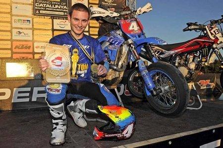 Thomas Chareyre, Campeón del Mundo de Supermotard S1 2010