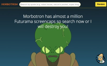 Morbotron, el buscador de escenas de Futurama al estilo Frinkiac