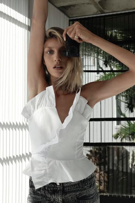Anja Rubik Assa Baradji Zara Lookbook Casa 02