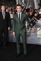 Robert Pattinson y Taylor Lautner en el estreno de 'Amanecer: parte II'