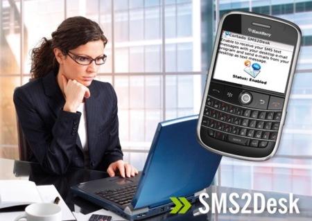 Cortado SMS2Desk, reenvía los SMS a tu correo electrónico