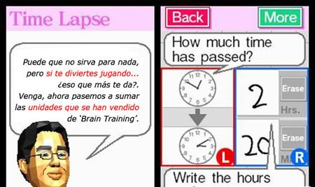 Los juegos tipo 'Brain Training' puestos en duda. Sirven para bastante poco