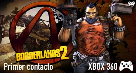 'Borderlands 2' para Xbox 360: primer contacto