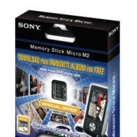 Sony también promueve la música en tarjetas de memoria