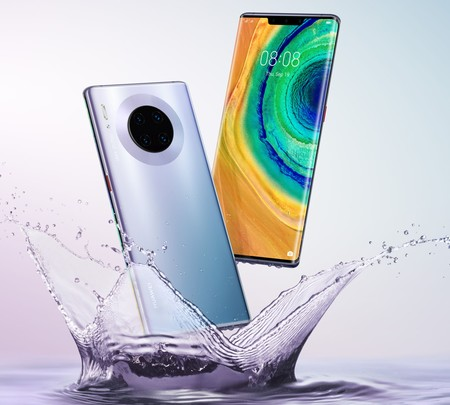 Huawei Mate 30 Pro: el primer móvil de Huawei sin servicios de Google estrena cuádruple cámara y pantalla súper curvada