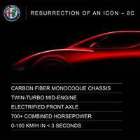 Vuelven los Alfa Romeo 8C y GTV: estos son los planes de la marca italiana para los próximos cinco años