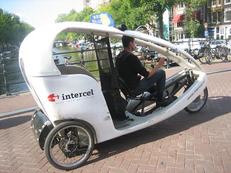 Bici taxi Amsterdam