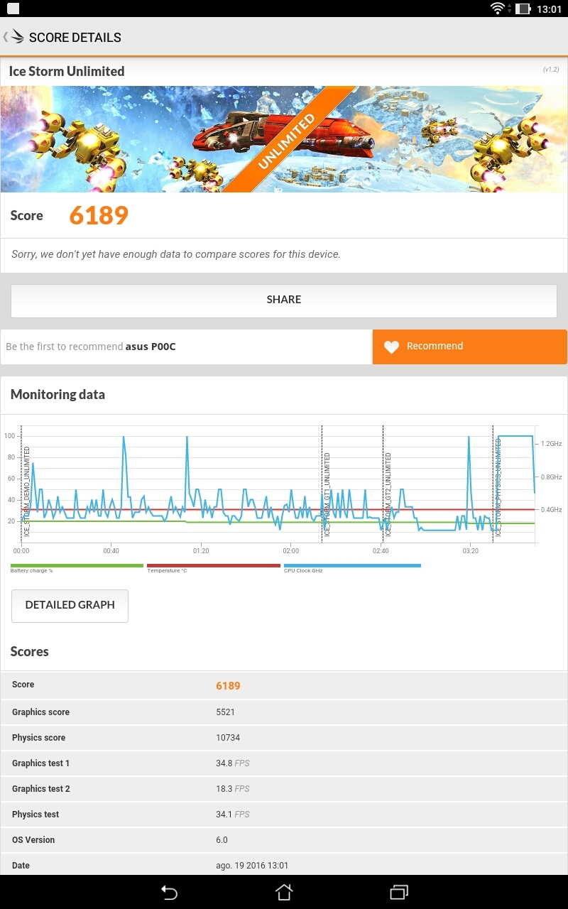 Foto de Asus ZenPad 10 (Z300M), benchmarks (4/13)