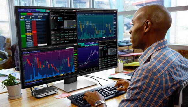 Dell P4317q Monitor Overview 1