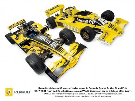 30 aniversario de Renault en F1