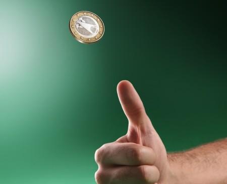 Resultado de imagen de Una moneda al aire