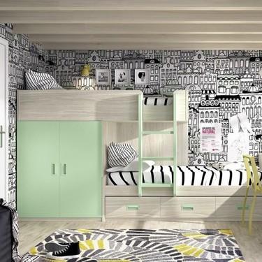 Tres soluciones originales para problemas de espacio en habitaciones juveniles