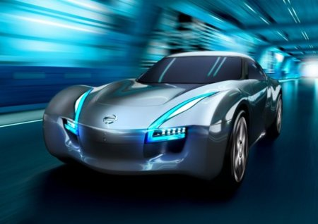 Nissan Esflow, un coche eléctrico deportivo