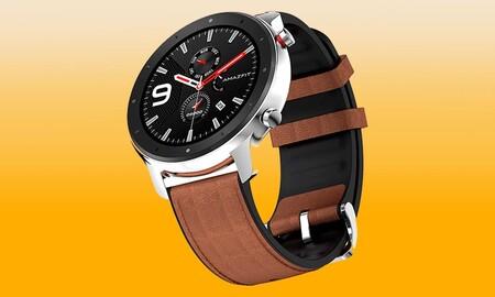 El Amazfit GTR es un reloj chollo si lo pides en eBay usando el cupón PXIAOMIJUNIO: lo tienes por sólo 76 euros