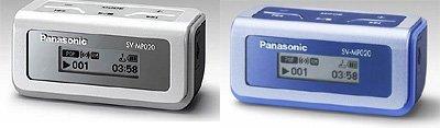 Reproductor de música minimalista de Panasonic