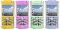 Posible Blackberry Pearl con WiFi y GPS