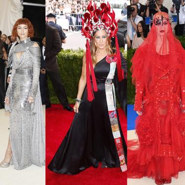 La Gala MET 2018 habrá sido más excéntrica que ninguna... pero estas cinco anteriores también nos dejaron boquiabiertos