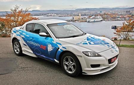 Mazda Rx8 hidrógeno