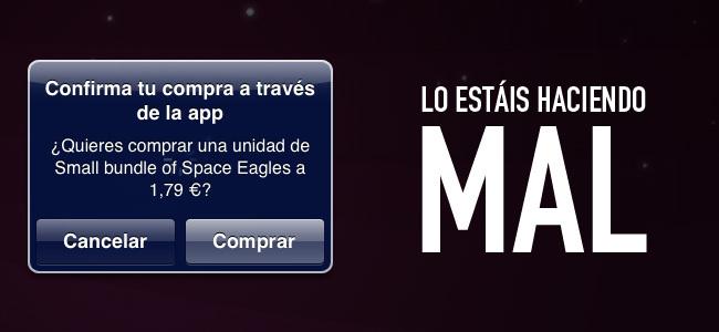 Compras in app