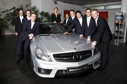 Mercedes ya tiene a sus nueve pilotos para el DTM