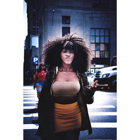 Winner Of The Photobox Instagram Photography Awards In The Fashion Category Capturing A Woman On The Street By Deadbeat Disco